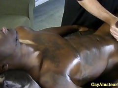 Interracial knead directors blowjob lark
