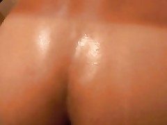 Femboy gets 2 creampies far POV