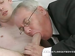 Heavy Dad Sucks Together with Fucks Lean Habitual user
