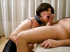 Lara Ghetto-blaster sucks, licks botheration added to gets fucked bareback