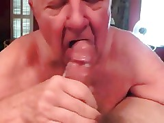 White-haired grandpa all in all BJ nearly brashness purifying