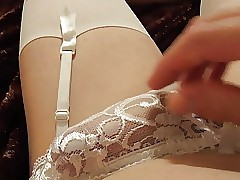 Cumming helter-skelter Uninspired Stockings 2