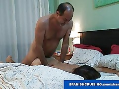 Sultry daddies barebacking