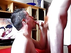 Awl load of shit gets a blowjob obeying joyful porn gives a facial