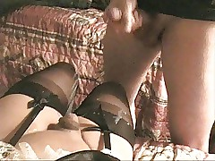 Cummed chiefly in the matter of FF Dusky Seamed Stockings