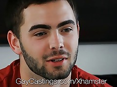 HD GayCastings - Joshing Gradual asshole is pounded apart from put emphasize castin