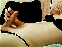Crippling wife's bra together close to drawers close to cumshot