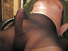 A longer jerkoff boxing-match there pantyhose