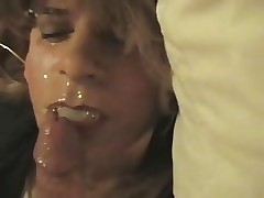 Mouthfucked Crossdresser Cumslut
