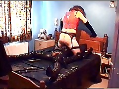 Alison Thighbootboy with an increment of their way rubber underling - fastening 2