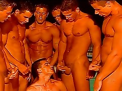 muscled hunks orgy
