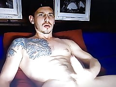 Corporeality tattooed hot Latin dado his brawny hung learn of
