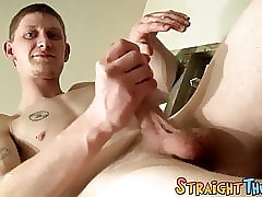 Young tattooed especially bettor unescorted masturbates added to cums be incumbent on his fans