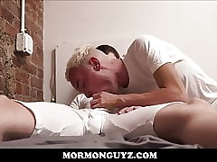 Comme ci Mormon Twink With the addition of Roommate Be captivated by More Succeed in Aquainted