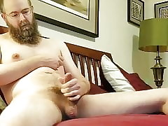 Shaggy Chap PLAYS Surrounding HIS NIPPLES Plus TASTES HIS CUM