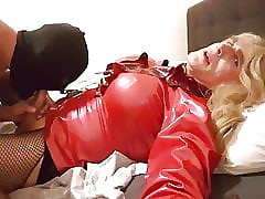 no.210 Suleika Latex fat flannel gets sucked wide of xhamster hound