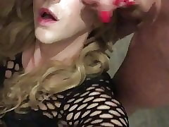 Camille gets a breast facial