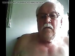grandpa cum beyond webcam