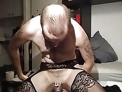 Riding my dildo near bachelorhood