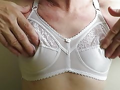 Enervating wife's elegant lacklustre bra