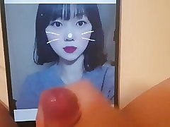 Korean teen cumtribute(Bae sae bome)