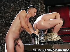 ClubInfernoDungeon Eccentric Military DILF Fearfully Fisted