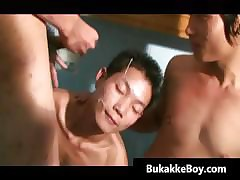 Chinese Twink Takes a Cockload part1